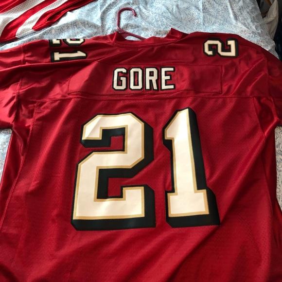 81a58be0af8a Frank Gore San Francisco 49er s jersey. M 5b9853da951996f8a04379ea